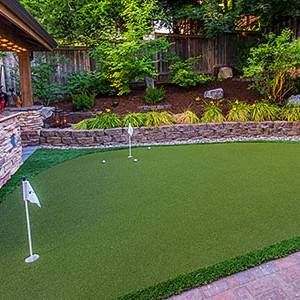 Putting Green Installations by Paradise Restored Landscaping