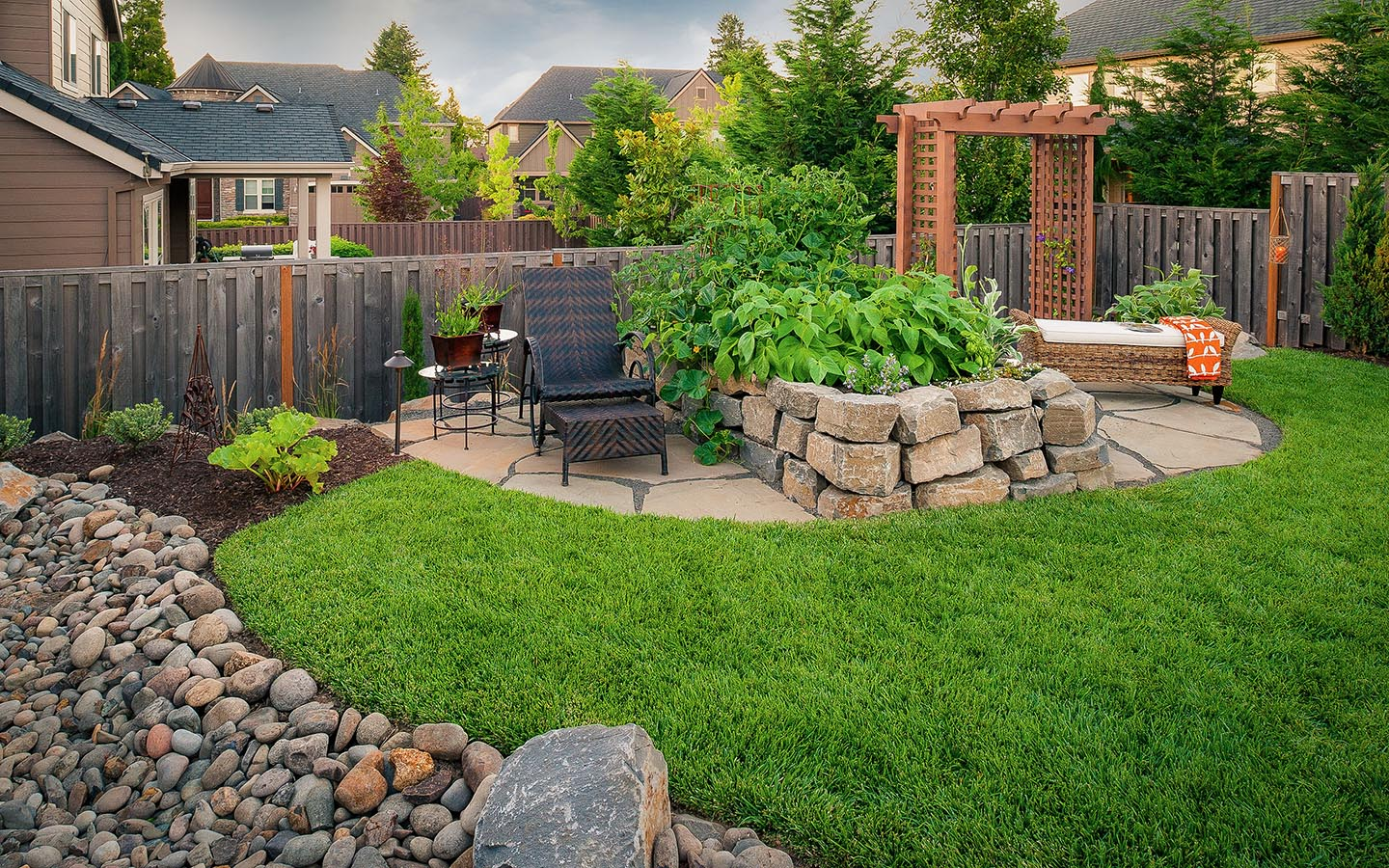 Peterson property paradise restored landscaping for Outdoor landscaping