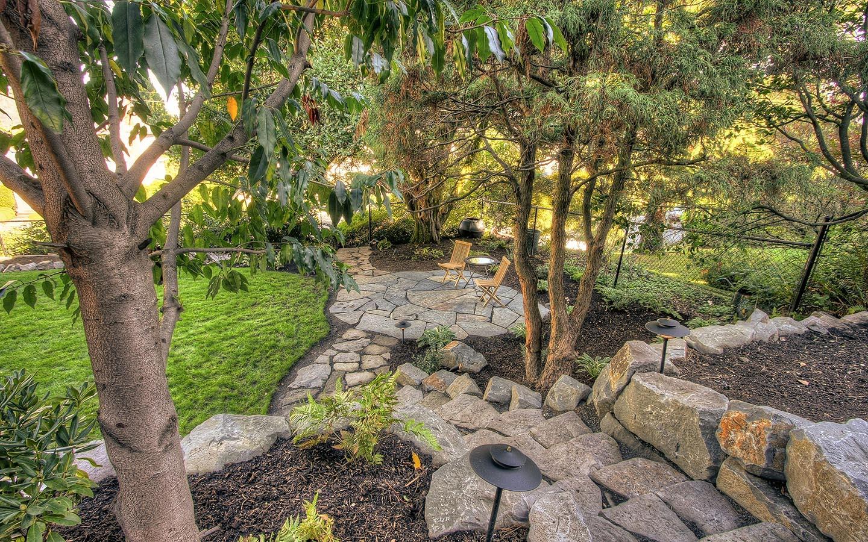Hardscape walkways paradise restored for Paradise restored landscaping exterior design