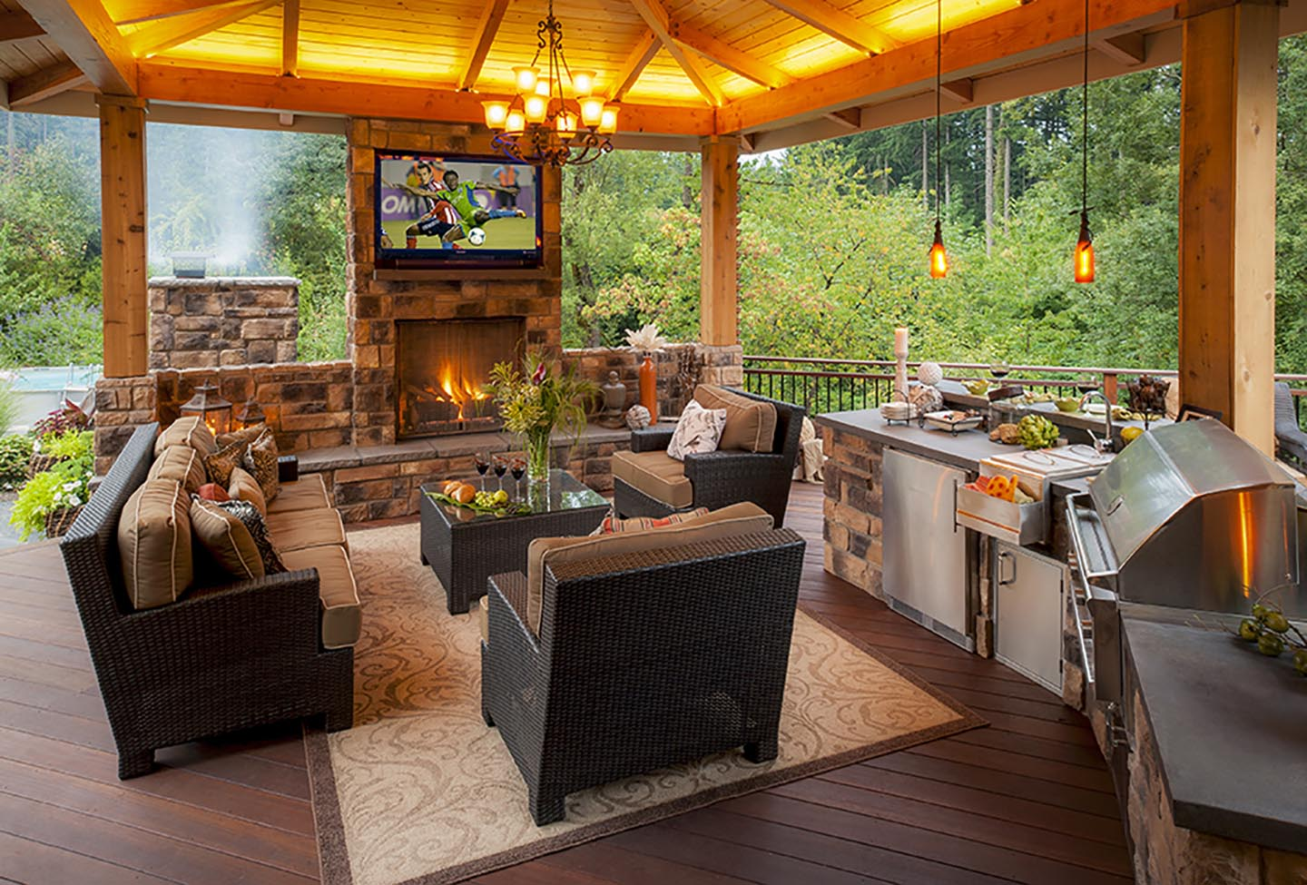 Outdoor Living Designs Outdoor Living Designs  Why Out Is The New In  Paradise Restored