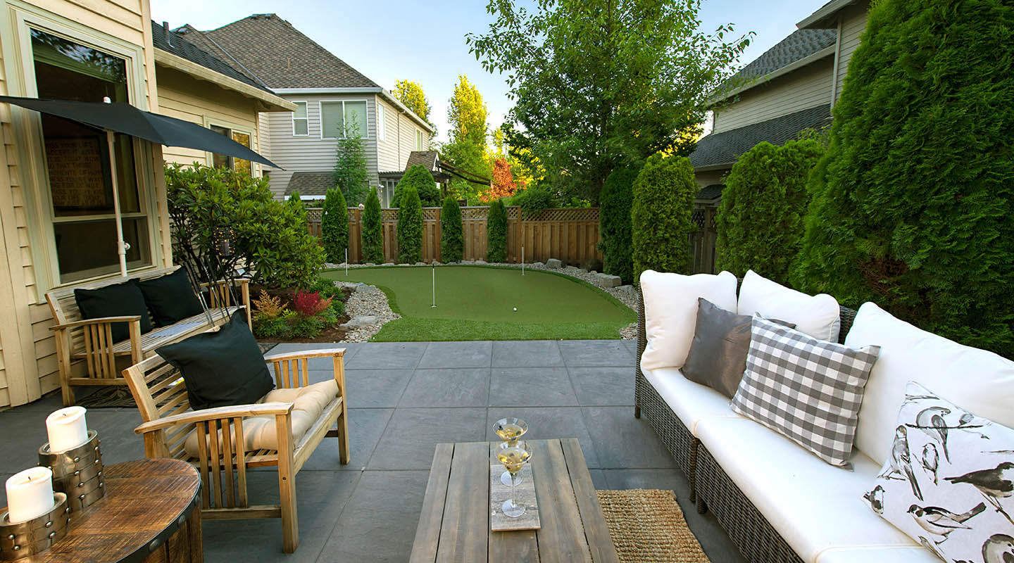 put a putting green in it paradise restored landscaping