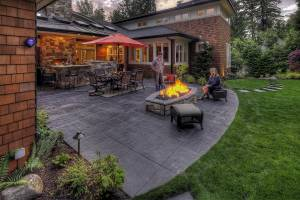 Outdoor Living - Firepit Ambiance