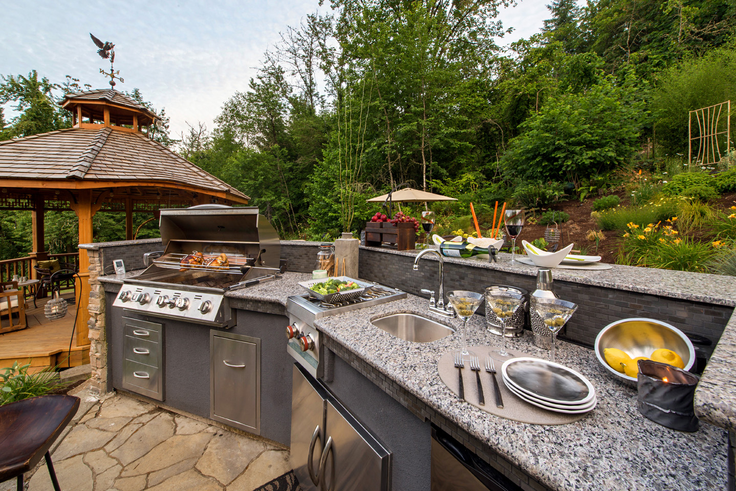 kitchen grill island