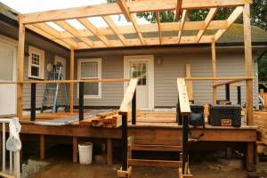 Pergola for Polycarbonate Waterproof Roofing