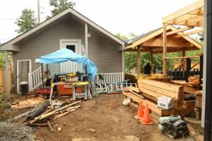 Gazebo & Pergola Under Construction