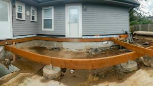 Construction of Deck