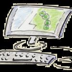 blog cartoon landscape design